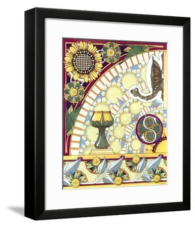 La Flore Decorative, Composees--Framed Art Print