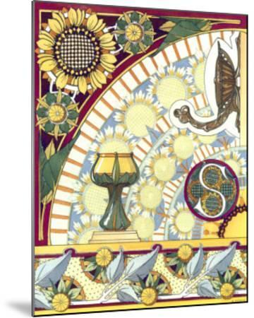 La Flore Decorative, Composees--Mounted Art Print