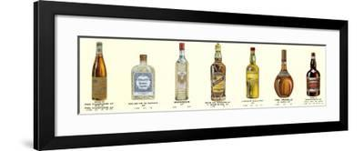 Seven Bottles I--Framed Art Print