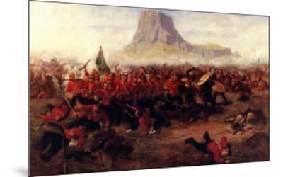 The Battle of Isandhlwana, 1879-Charles Edwin Fripp-Mounted Art Print