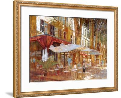 Cafe Primavera-Michael Longo-Framed Art Print