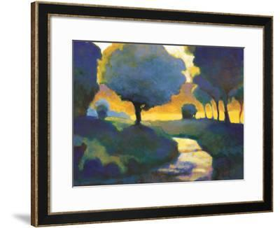 Brook through the Wood-Lawrence Mathis-Framed Art Print