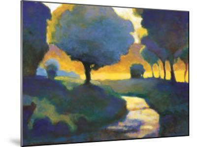Brook through the Wood-Lawrence Mathis-Mounted Art Print