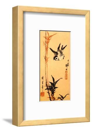 Untitled-Ando Hiroshige-Framed Art Print