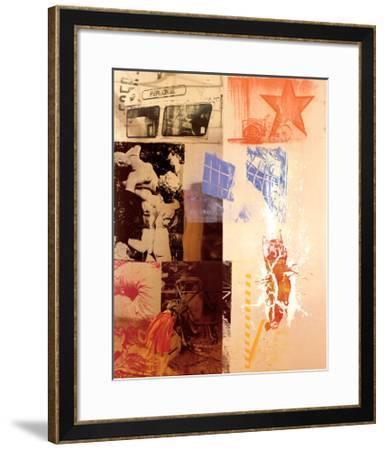 Favor Rites, 1988-Robert Rauschenberg-Framed Art Print