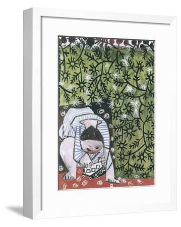 Enfant Jouant, 1953-Pablo Picasso-Framed Art Print