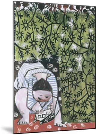 Enfant Jouant, 1953-Pablo Picasso-Mounted Art Print