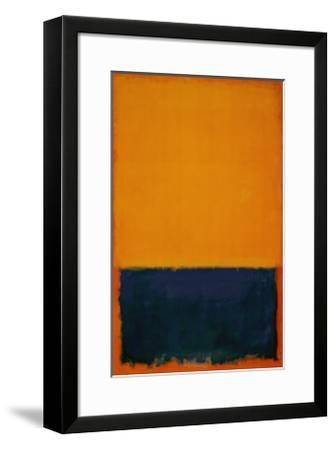 Yellow, Blue, Orange, 1955-Mark Rothko-Framed Art Print
