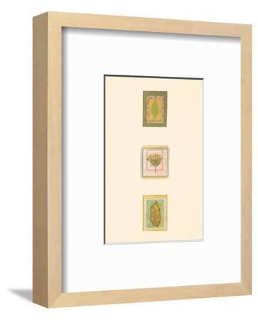 Les Fleurs d'Amour VII-Julie Lavender-Framed Art Print