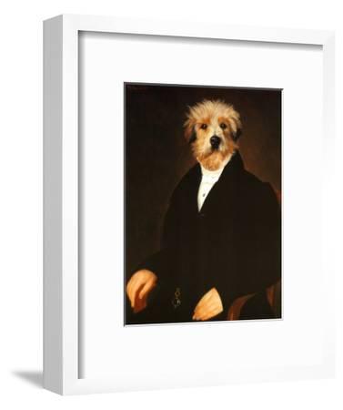 Ancestral Canine I-Thierry Poncelet-Framed Art Print