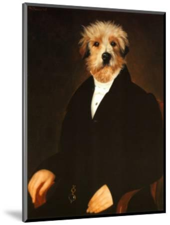 Ancestral Canine I-Thierry Poncelet-Mounted Art Print