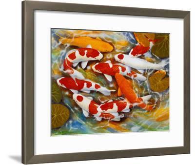 Koi-B^ Lee-Framed Art Print