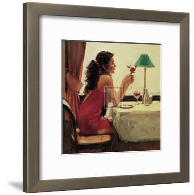 Only a Dream Away-Raymond Leech-Framed Art Print