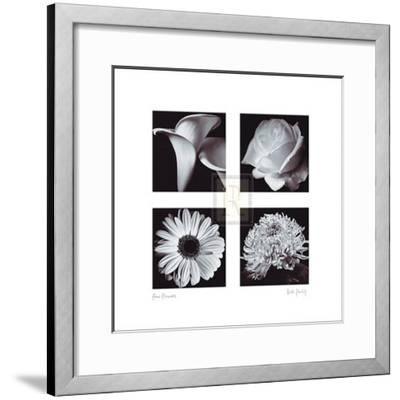 Four Flowers-Bill Philip-Framed Art Print