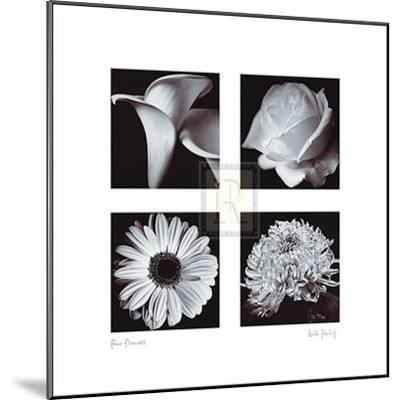 Four Flowers-Bill Philip-Mounted Art Print