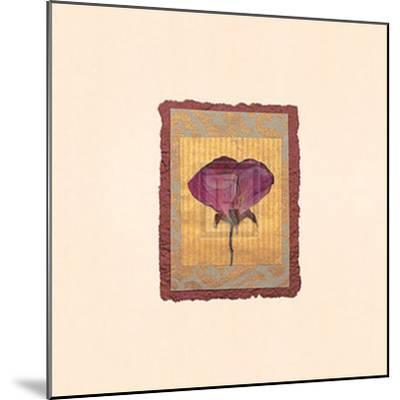 Accents I-Julie Lavender-Mounted Art Print