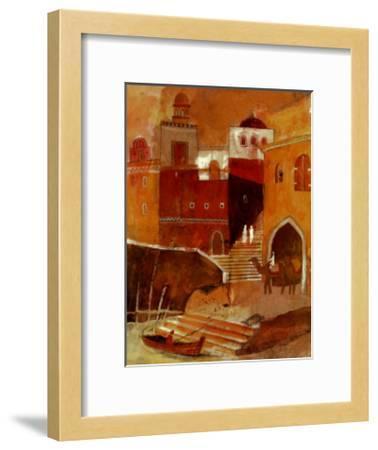 Secret Steps-L^ Myhill-Framed Art Print