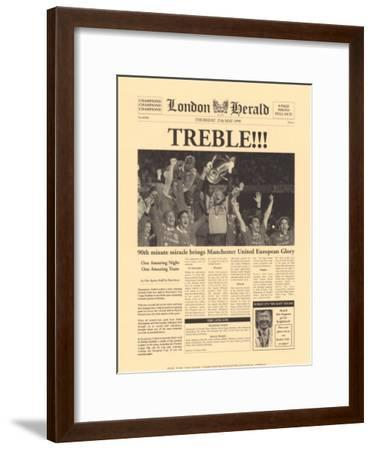 The Treble-The Vintage Collection-Framed Art Print