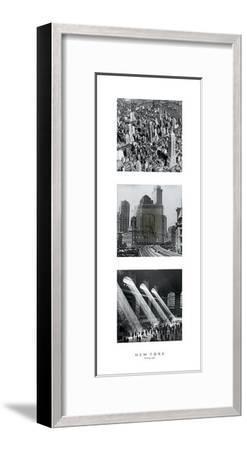 New York Morning Light--Framed Art Print