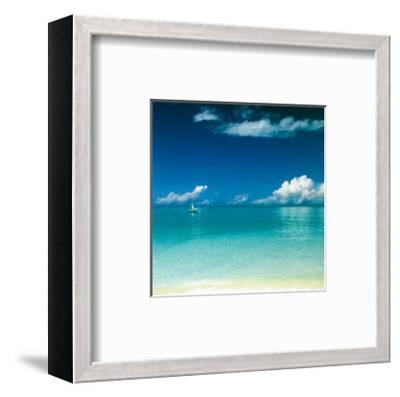Tropical Horizons I-Adam Brock?-Framed Art Print