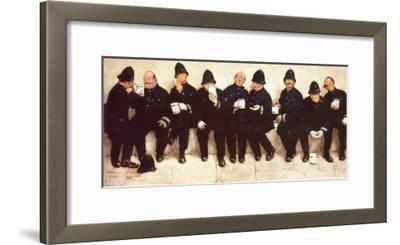 Nine Pints of the Law-Lawson Wood-Framed Art Print