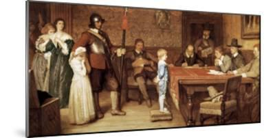 And When Did You Last See Your Father?-William Frederick Yeames-Mounted Art Print
