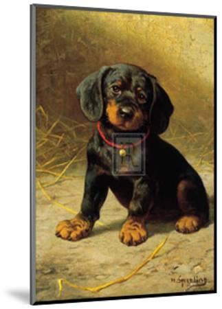 Puppy-H^ Sperling-Mounted Art Print