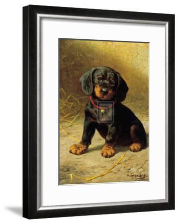 Puppy-H^ Sperling-Framed Art Print