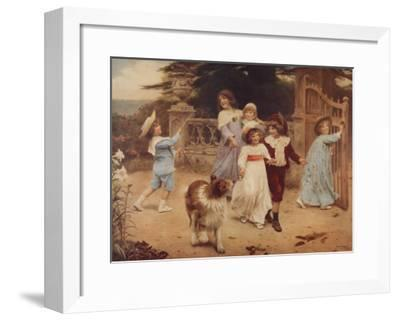 Home Team-Arthur John Elsley-Framed Art Print