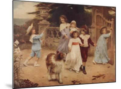 Home Team-Arthur John Elsley-Mounted Art Print