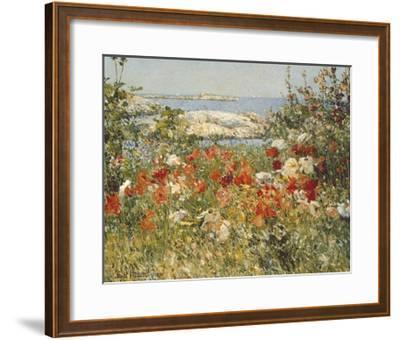 Ocean View-Childe Hassam-Framed Art Print