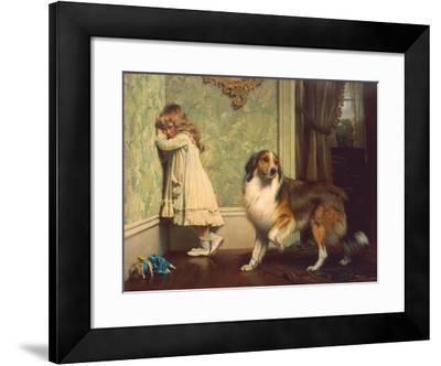 Special Pleader-Charles Burton Barber-Framed Art Print