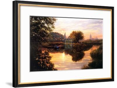 Evening Rendezvous-G^ Petley-Framed Art Print
