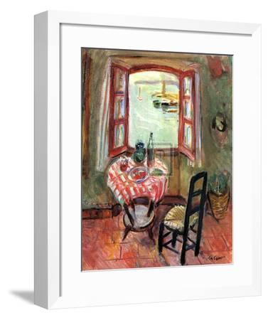 The Open Window-Charles Camoin-Framed Art Print