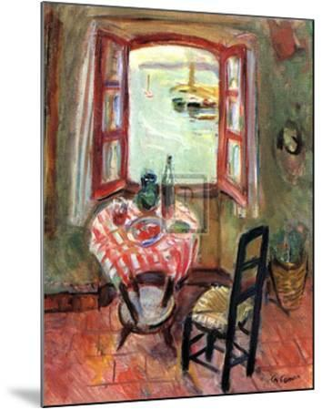 The Open Window-Charles Camoin-Mounted Art Print