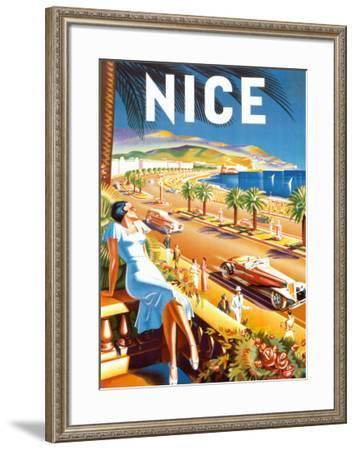 Nice-De'Hey-Framed Art Print