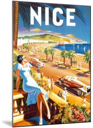 Nice-De'Hey-Mounted Art Print