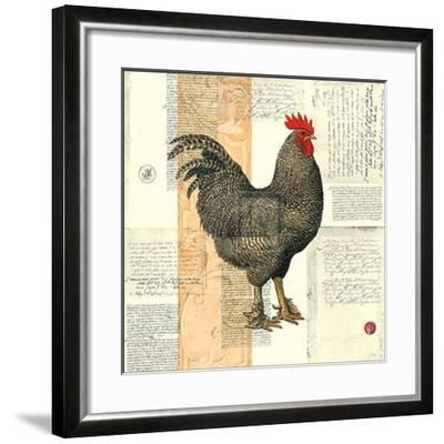 Poulet de Champagne I-Pierre Lapin-Framed Art Print