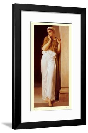 Nausicaa-Frederick Leighton-Framed Art Print