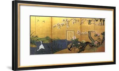 Blossom Time-18th Century Chinese School-Framed Art Print