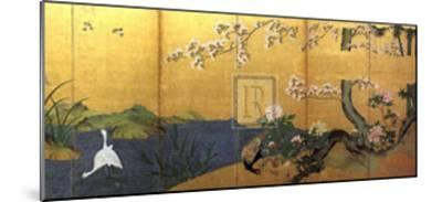 Blossom Time-18th Century Chinese School-Mounted Art Print