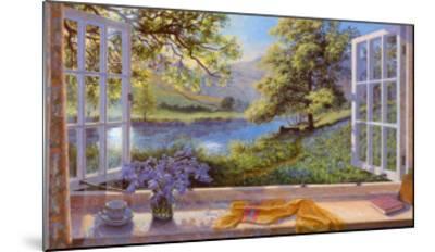 Bluebells-Stephen Darbishire-Mounted Art Print