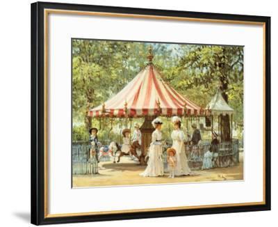 Summer Carousel-Alan Maley-Framed Art Print