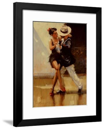 Put on Your Red Shoes-Raymond Leech-Framed Art Print