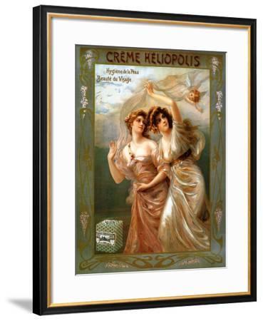 Creme Heliopolis--Framed Art Print