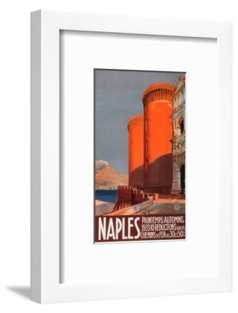 Naples--Framed Art Print