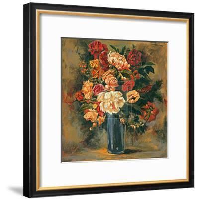 Tranquil Arrangement I-John Douglas-Framed Art Print