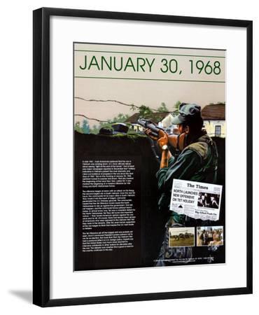Ten Days That Shook the Nation - The Vietnam War--Framed Art Print