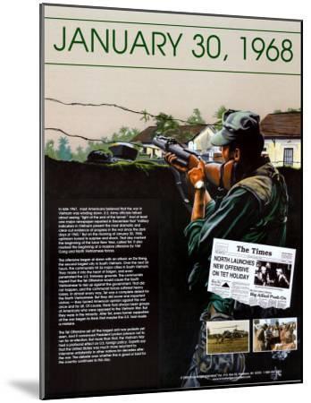Ten Days That Shook the Nation - The Vietnam War--Mounted Art Print