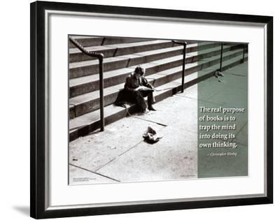 Trap the Mind--Framed Art Print